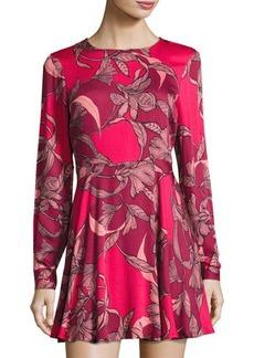 Mink Pink Femme Fatale Fit & Flare Dress