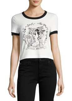 Mink Pink Jungle Girl Graphic Tee