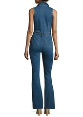 Mink Pink Pintucked Denim Jumpsuit