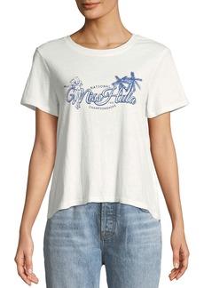 Mink Pink Miss Hula Crop T-Shirt