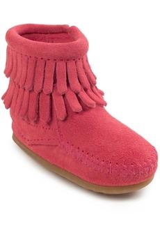 Minnetonka Baby Girls Double Fringe Boot