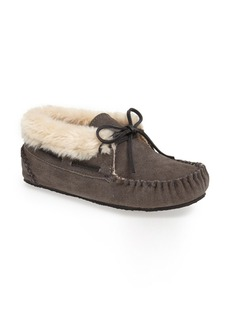 Minnetonka 'Chrissy' Slipper Bootie (Women)
