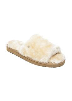 Minnetonka Faux Fur Slide Slipper (Women)