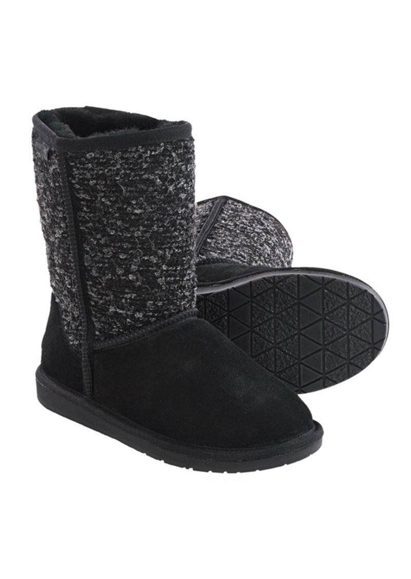 Minnetonka Forsyth Boots - Sheepskin Lined (For Women)
