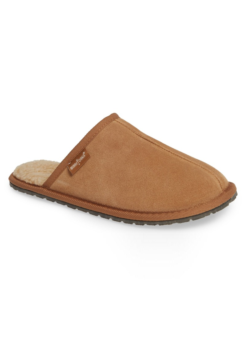 Minnetonka Franklin Scuff Slipper (Men)