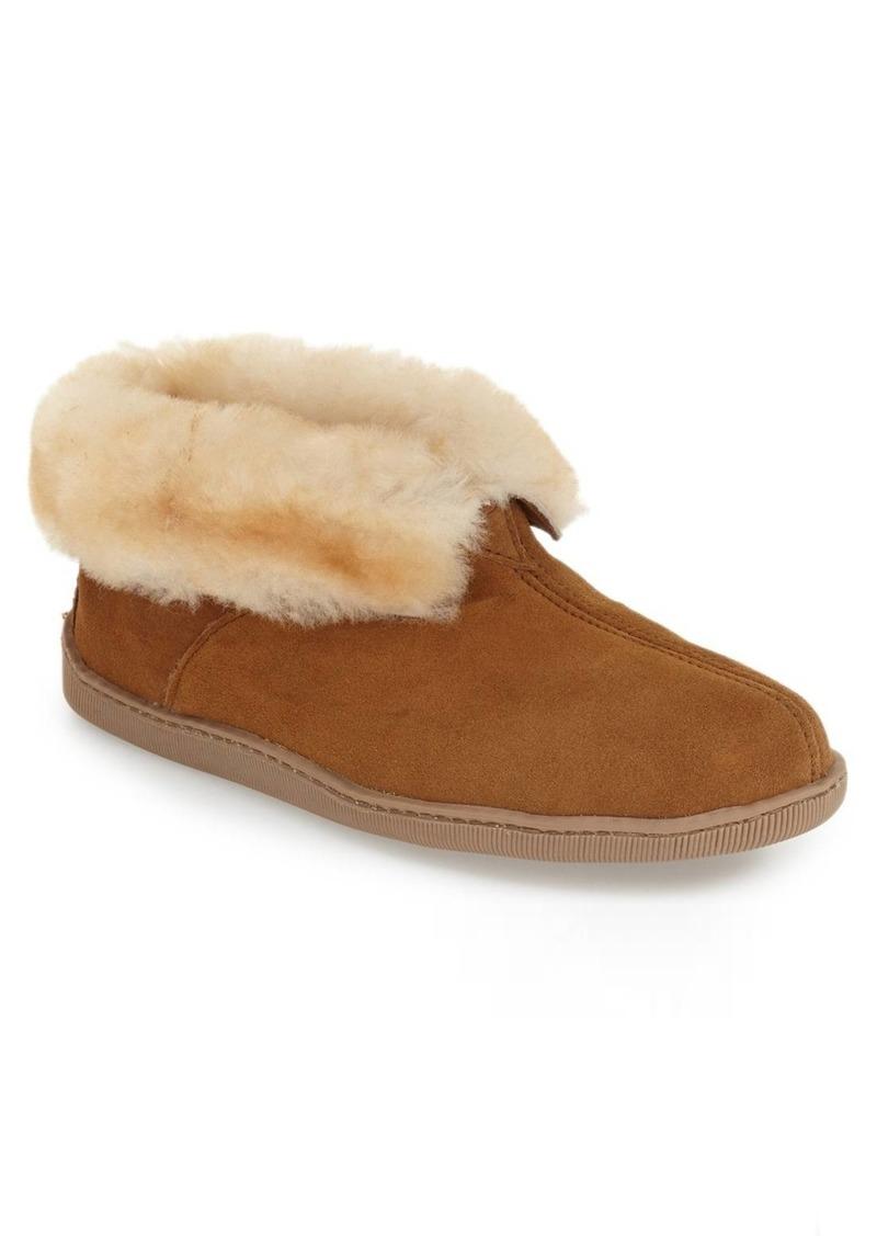 Minnetonka Genuine Shearling Lined Ankle Boot (Men)