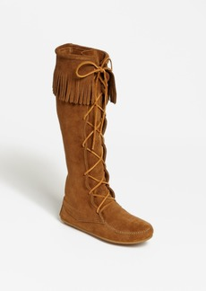 Minnetonka Lace-Up Boot