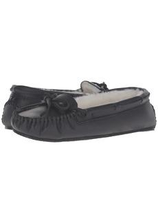 Minnetonka Leather Cally Slipper