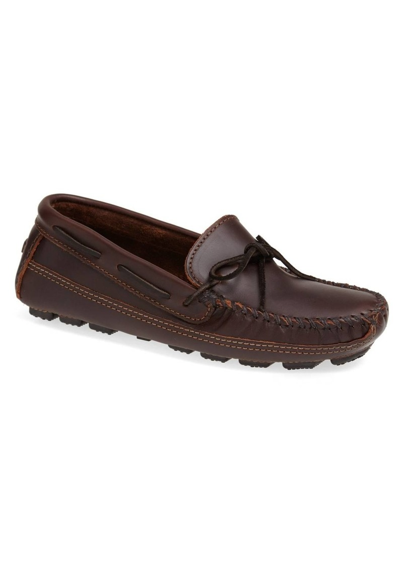 Minnetonka Leather Driving Shoe