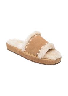 Minnetonka Loni Faux Fur Slide Slipper (Women)