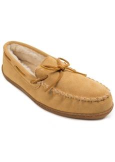 Minnetonka Men's Pile Lined Hard Sole Slipper Men's Shoes