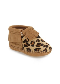 Minnetonka 'Riley' Bootie (Baby & Walker)