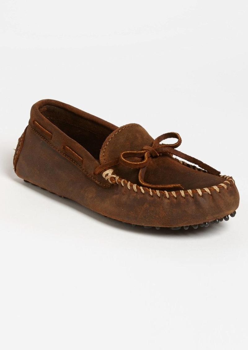 Minnetonka Suede Driving Shoe