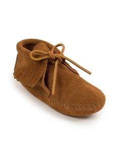 Minnetonka Little Girls Classic Fringe Soft Sole Boot