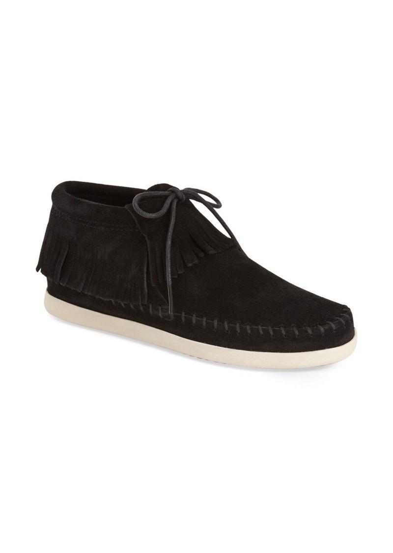 Minnetonka Minnetonka Venice Fringe Moccasin Bootie Women Shoes