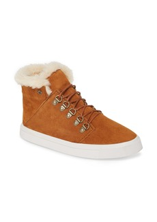Minnetonka x Lottie Moss Faux Shearling High Top Sneaker (Women)