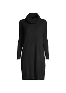 Minnie Rose Cashmere Cowl Neck Dress