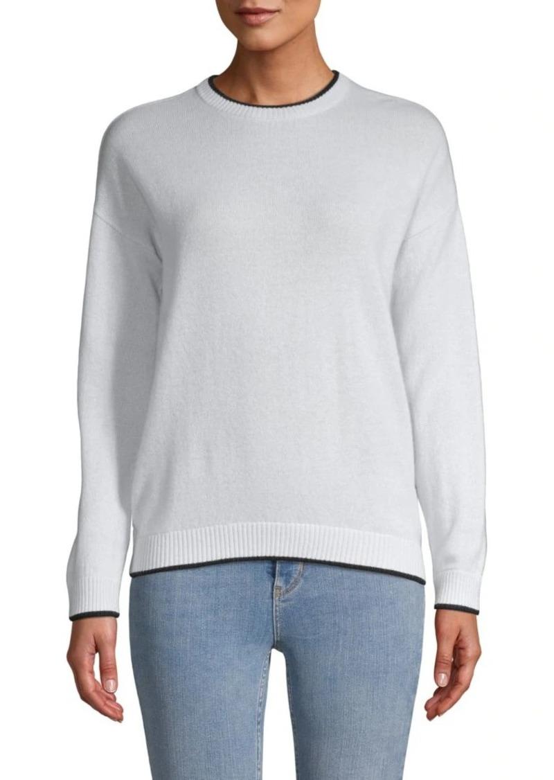 Minnie Rose Graphic Cashmere Sweater