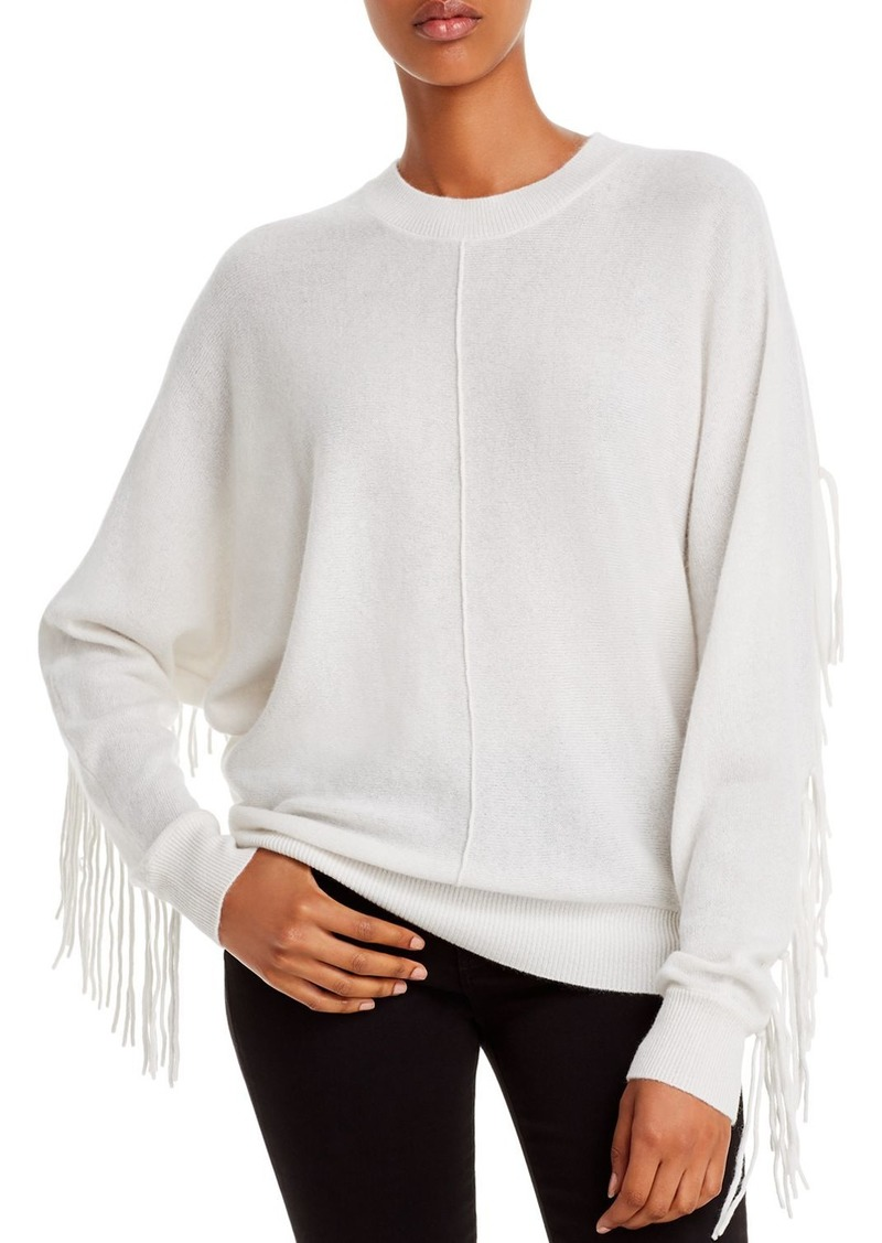 Minnie Rose Fringed Cashmere Sweater