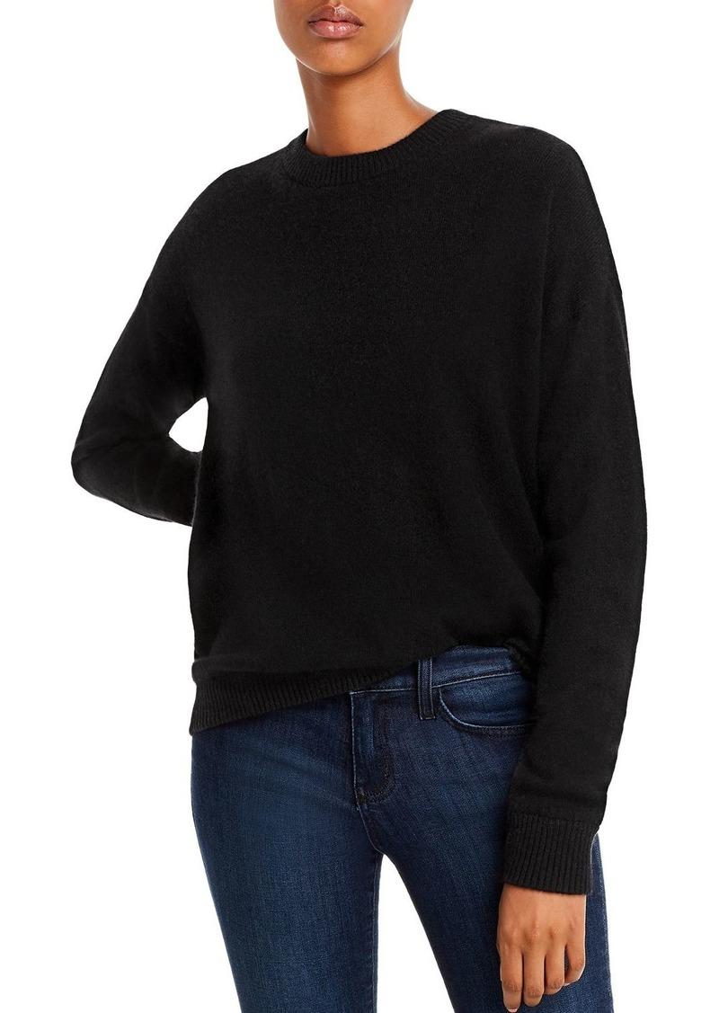 Minnie Rose Hamsa Cashmere Sweater