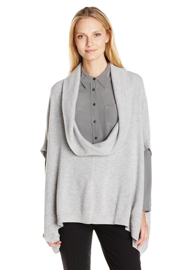 Minnie Rose Women's Cowl Neck Pullover