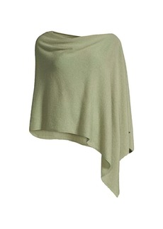 Minnie Rose Ruana Cashmere Cape
