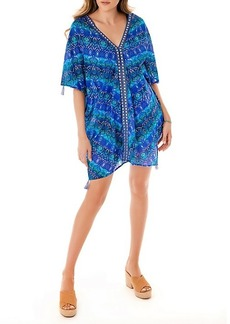 Miraclesuit Blu Curacao Cotton Caftan