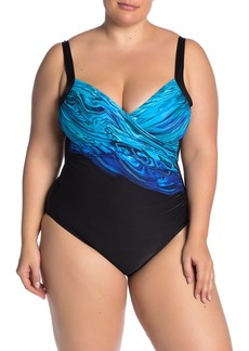 Miraclesuit Blue Pointe Sanibel One-Piece Swimsuit