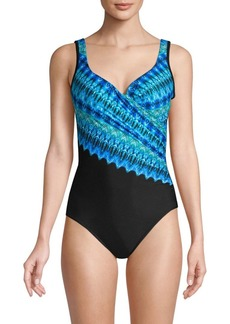 Miraclesuit Cabana Chic It's A Wrap One-Piece Swimsuit
