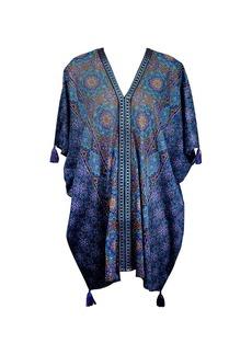 Miraclesuit Danube Mosaic-Print Cotton Caftan