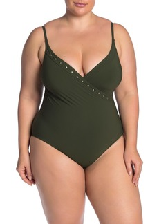 Miraclesuit Freedom Naomi Studded One-Piece Swimsuit