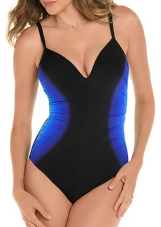 Miraclesuit Gulf Stream Temptation One-Piece Colorblocked Swimsuit