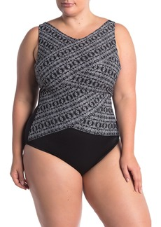 Miraclesuit Incan Silver Bri One-Piece Swimsuit