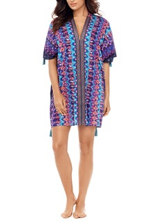 Miraclesuit® Bella Alba Cotton Caftan Cover-Up