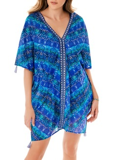 Miraclesuit® Blue Curacao Caftan