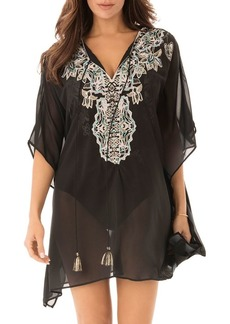 Miraclesuit Cloisonne Caftan Swim Cover-Up