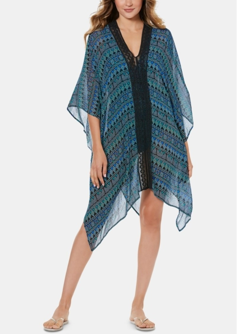 Miraclesuit Gypsy Printed Caftan Cover-Up Women's Swimsuit
