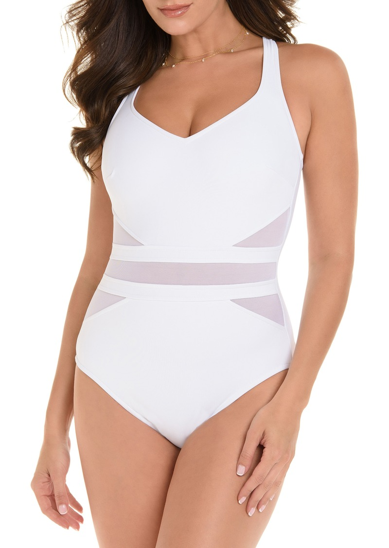 923b183f8934b Miraclesuit Miraclesuit® Illusionist It's a Cinch One-Piece Swimsuit ...