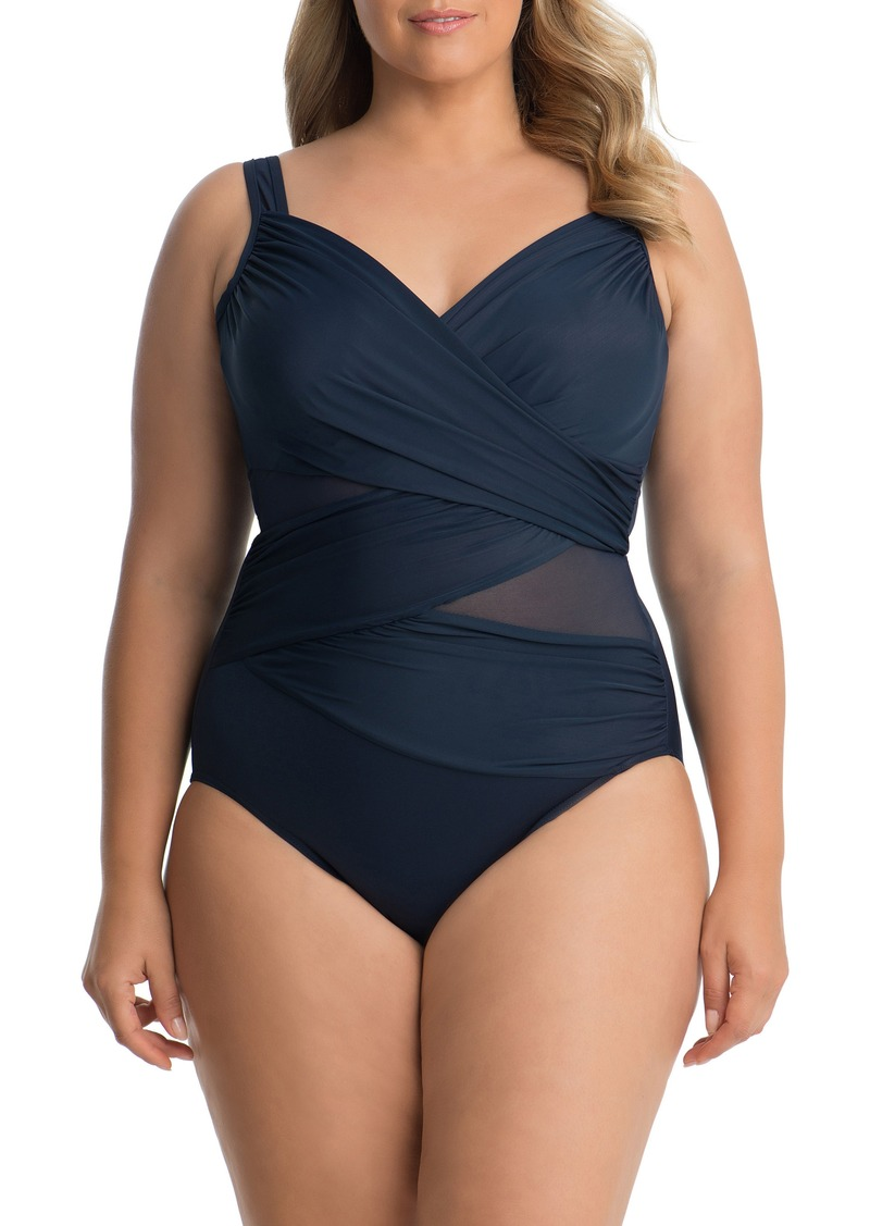 d39cf94cfa3 Miraclesuit Miraclesuit® Madero One-Piece Swimsuit (Plus Size ...