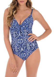 Miraclesuit® Majorca Pin-Up One-Piece Swimsuit