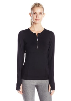 Miraclesuit MSP by Women's Long Sleeve Mesh Top  M