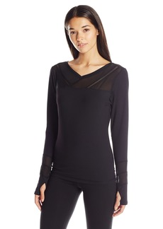 Miraclesuit MSP by Women's Long Sleeve Top with Thumbholes  S