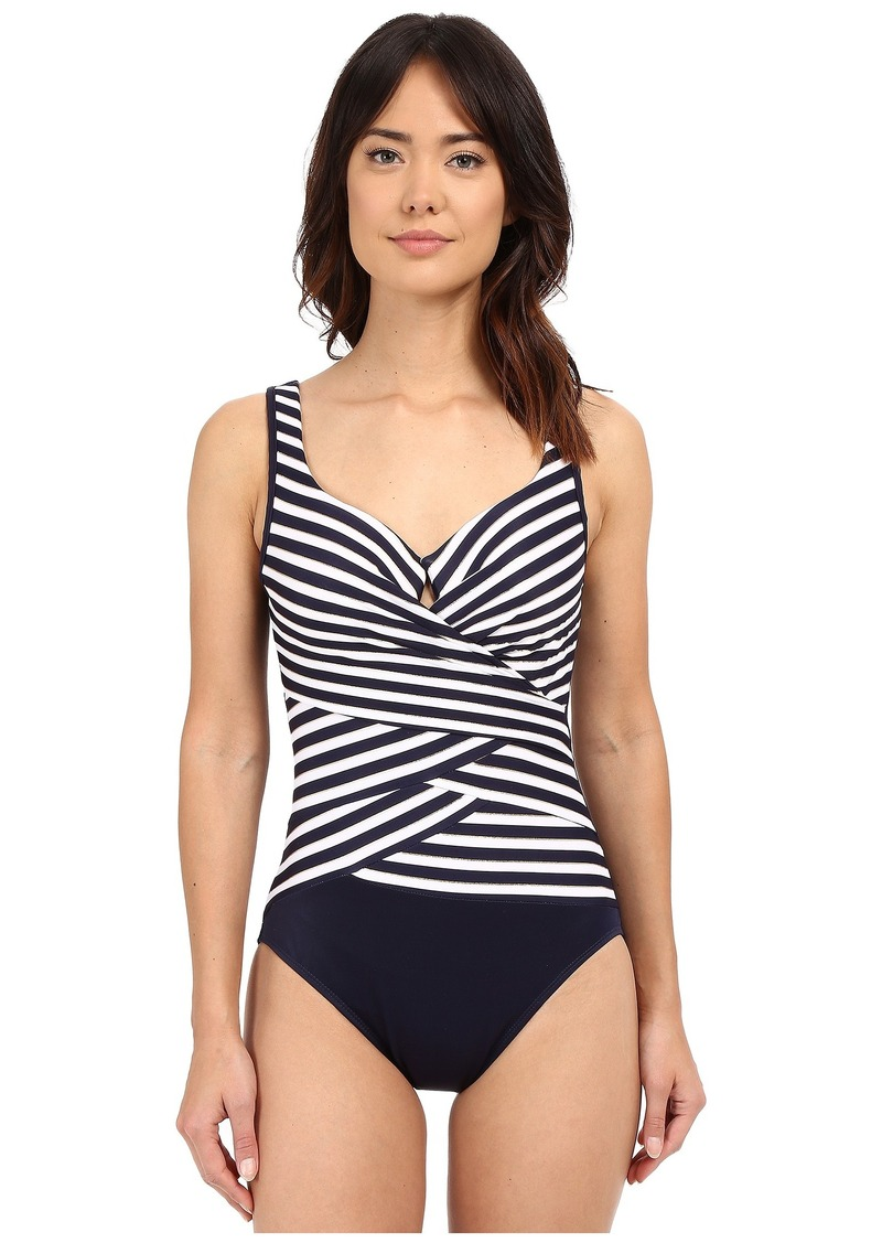 Miraclesuit New Directions Layered Escape One-Piece