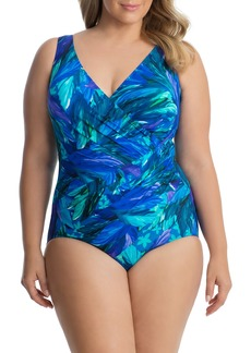 Miraclesuit® Riviera Maya Sanibel One-Piece Swimsuit (Plus Size)