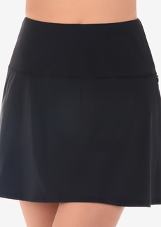 Miraclesuit Solid Basic Tummy-Control Fit & Flare Swim Skirt Women's Swimsuit