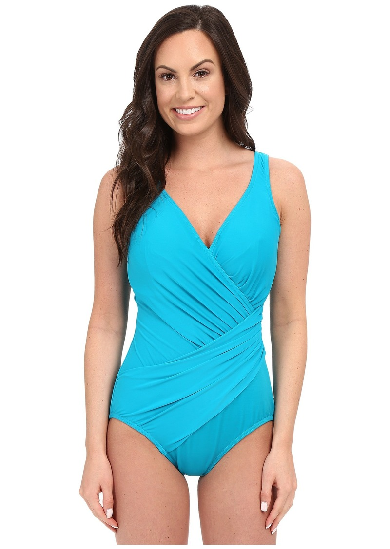 0784443a95 Miraclesuit Miraclesuit Solid Oceanus One-Piece (DD Cup)