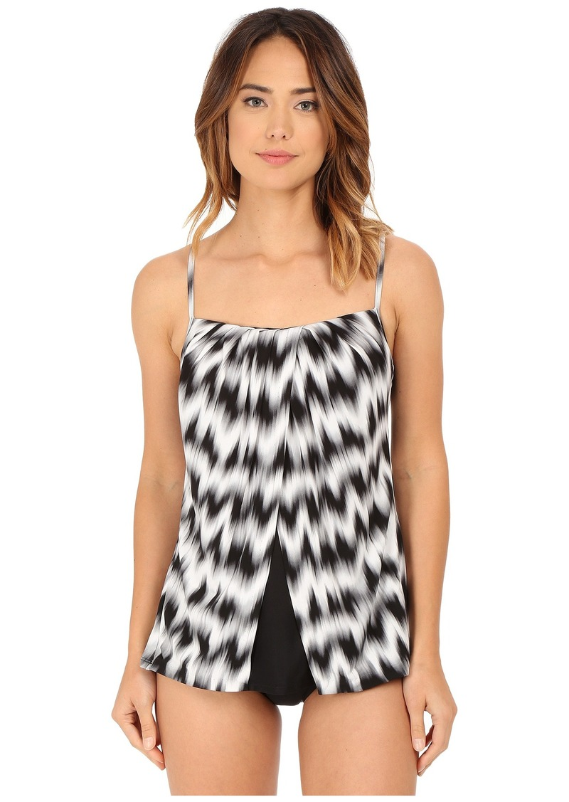 Miraclesuit Sound Wave Jubilee Tankini Top