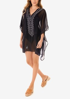 Miraclesuit Stitch Mix Caftan Swim Cover-Up Women's Swimsuit