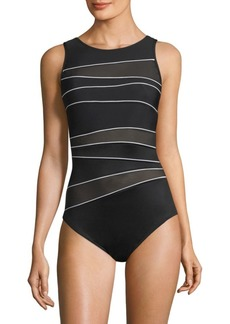 Miraclesuit One-Piece Spectra Somerset Cutout Swimsuit