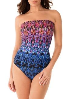Miraclesuit® Vesuvio Avanti Bandeau One-Piece Swimsuit
